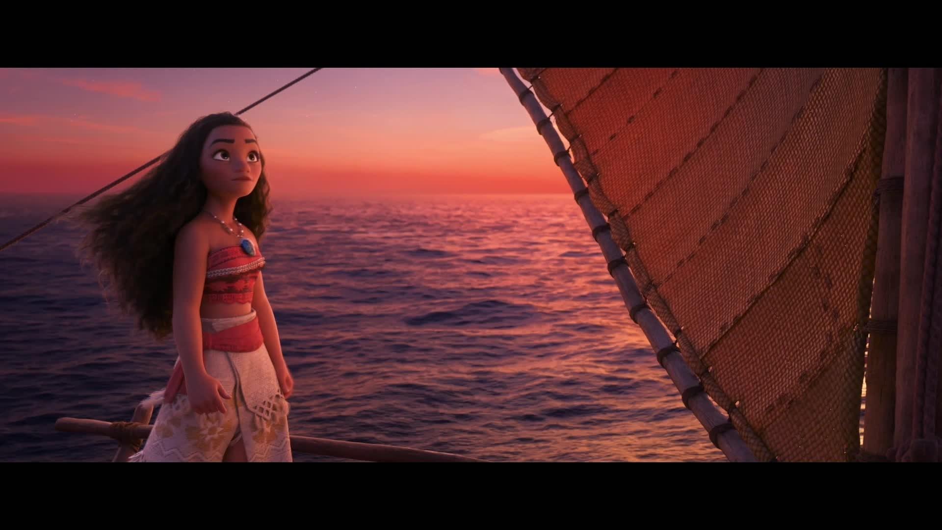 VAIANA - Filmclip: Bring mir das Segeln bei! | Disney HD