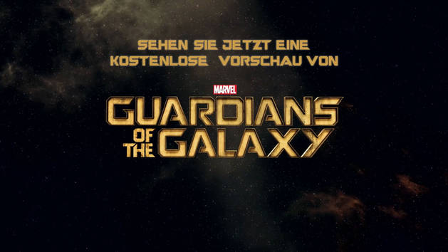 Guardians Of The Galaxy - Exklusive 10 Minuten Preview