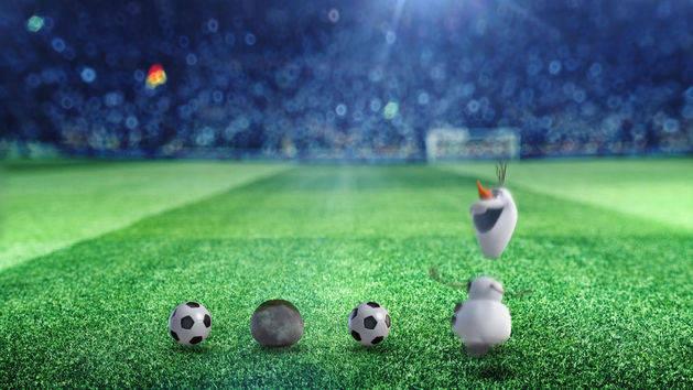 Fußball-Fieber: Olaf im Fußballfieber - Clip