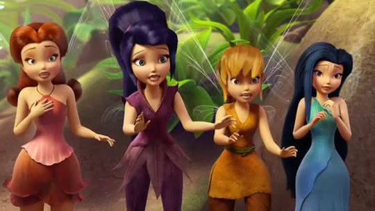 Disney Fairies - Scrubbed the wrong way