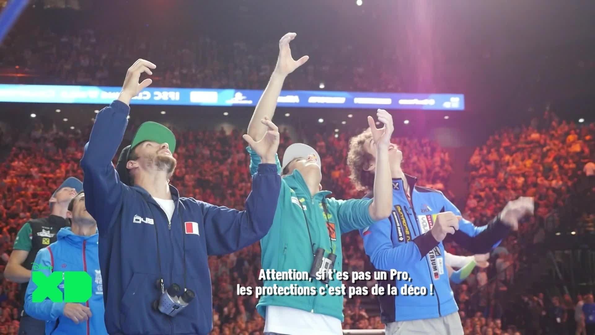 Disney XD Sport News - Paris : Escalade