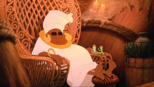 Küss den Frosch - Mama Odie