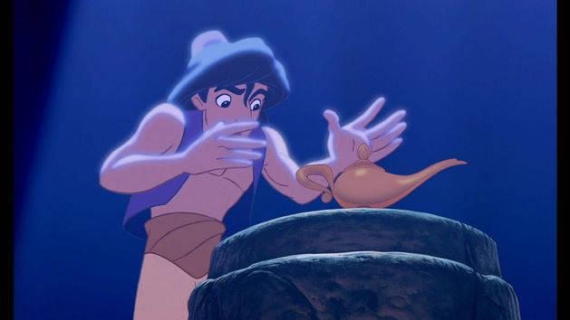 Aladdin auf Blu-ray