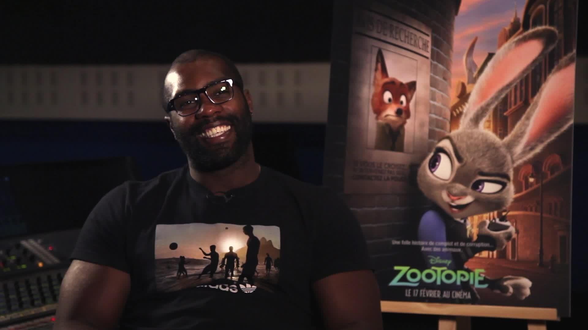 Zootopie - Making Off : Teddy Riner