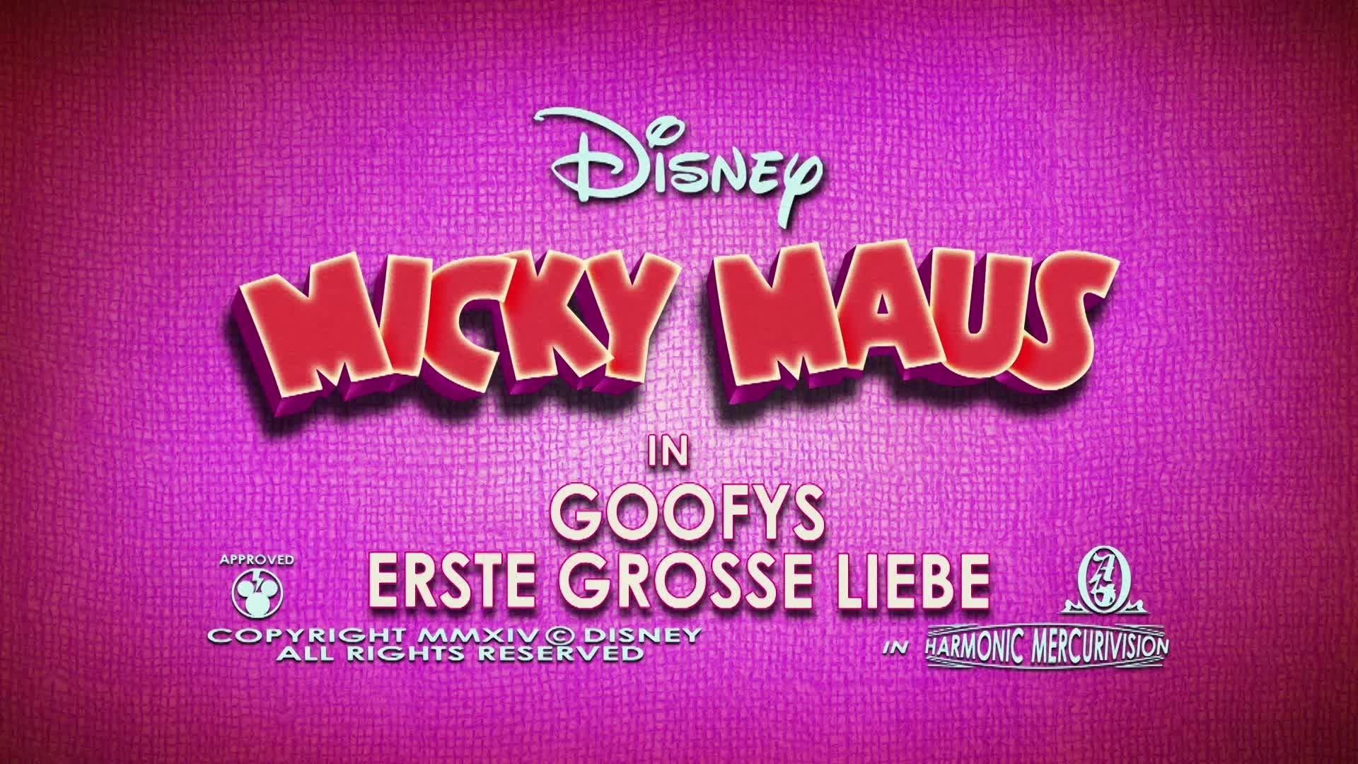 Micky Short: Goofys erste grosse Liebe