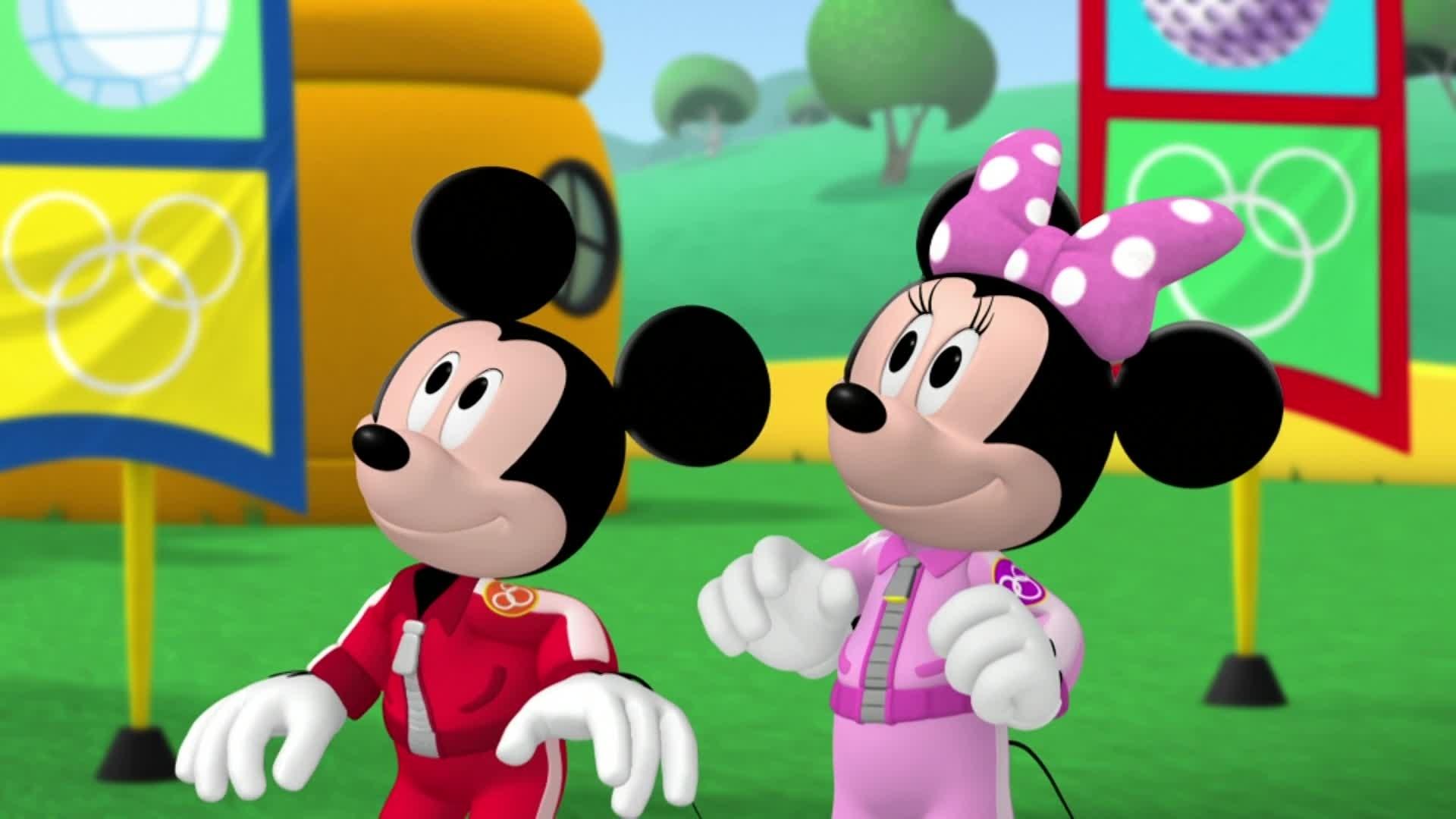 La Maison de Mickey - Athlète de haut niveau