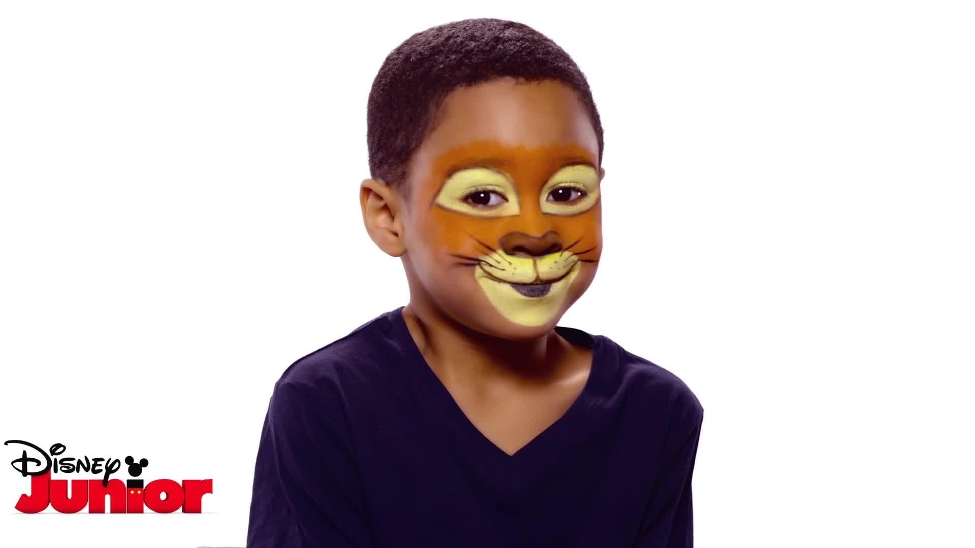 Tuto Maquillage La Garde du Roi Lion - Kion