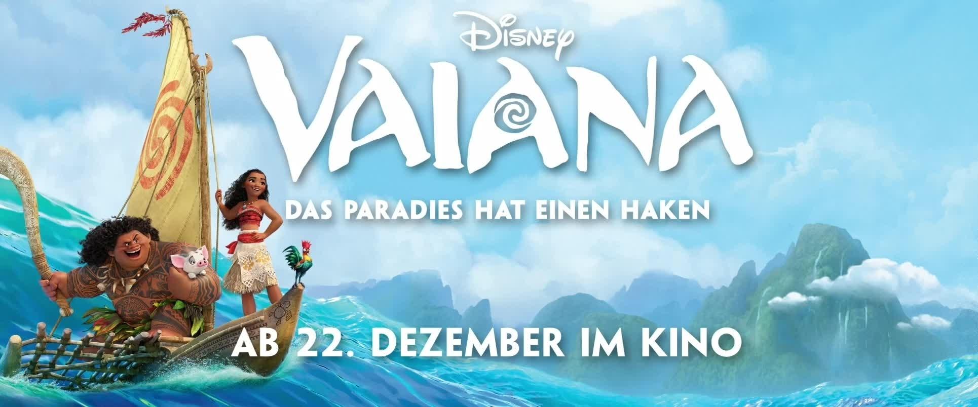 VAIANA - Erster offizieller Trailer - Weihnachten 2016 im Kino | Disney HD