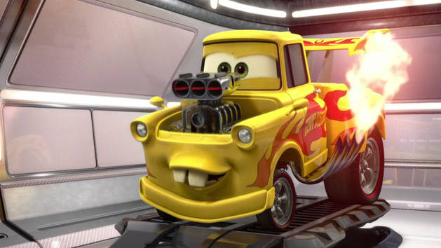 cars 2 extrait la course de flash mcqueen vid os. Black Bedroom Furniture Sets. Home Design Ideas