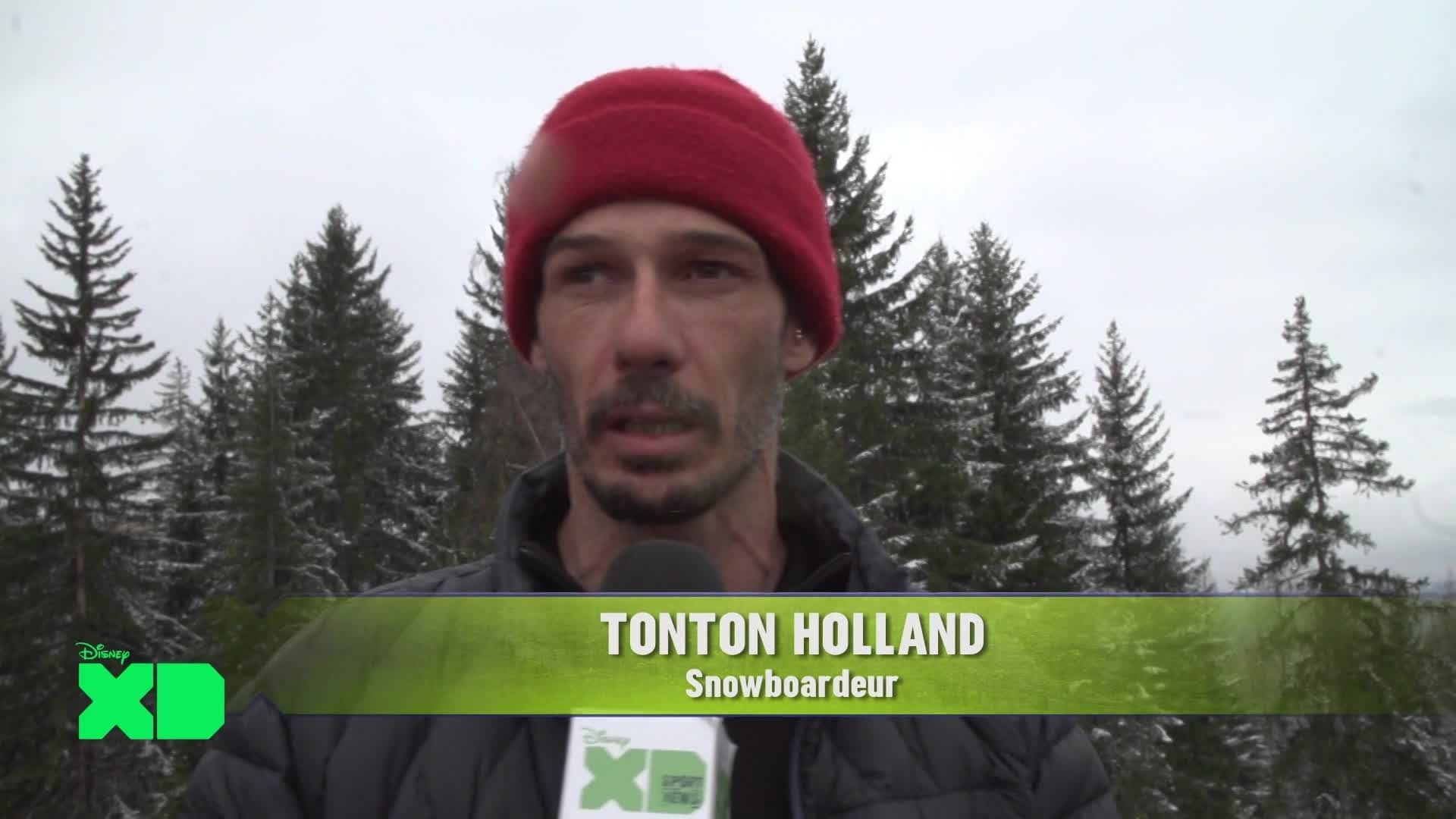 Disney XD Sport News - Snowboard : Tonton Holland