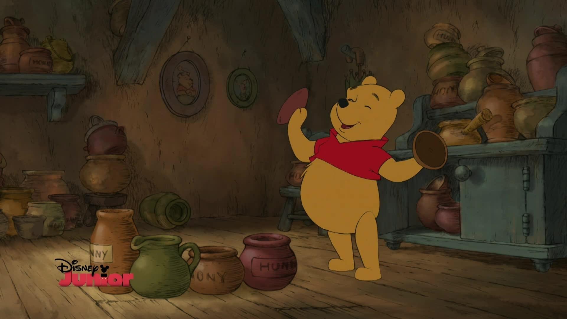 Winnie Puuh - Das Lied vom Bäuchlein