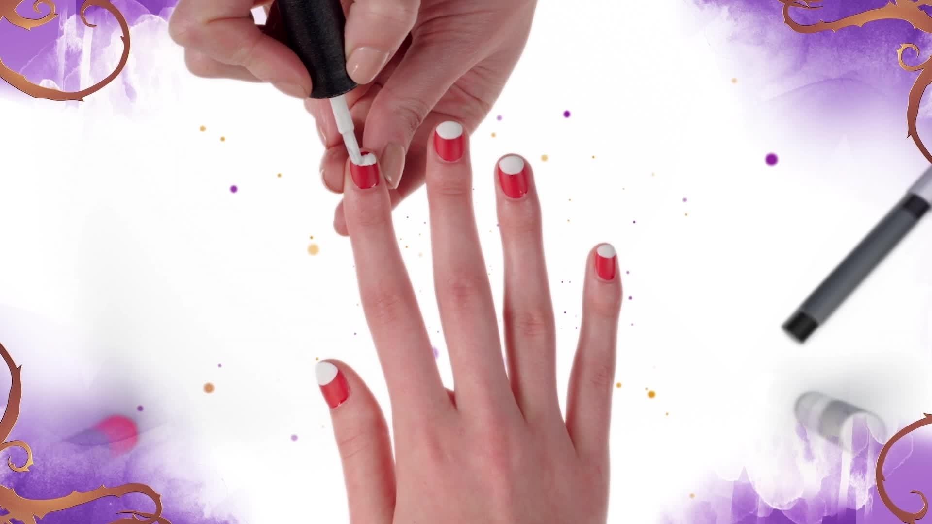 Nail Art - Carlos de Descendants