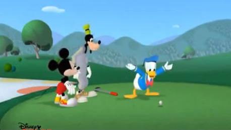 Fit mit Micky - Donald spielt Golf