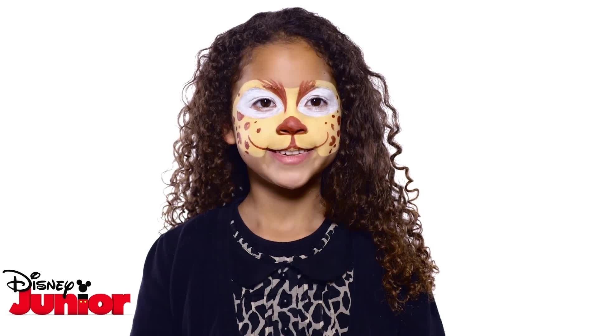 Tuto Maquillage La Garde du Roi Lion - Fuli
