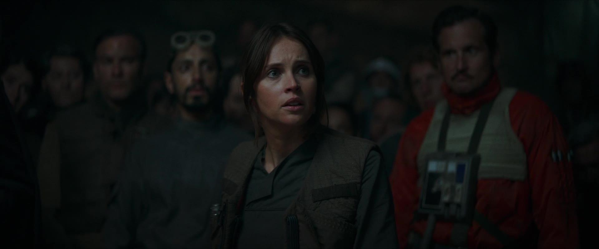 Jyn Rallies The Rebel Alliance