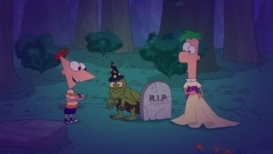 Phineas und Ferb - Party in der Schreckensburg / Die Riesenfledermaus