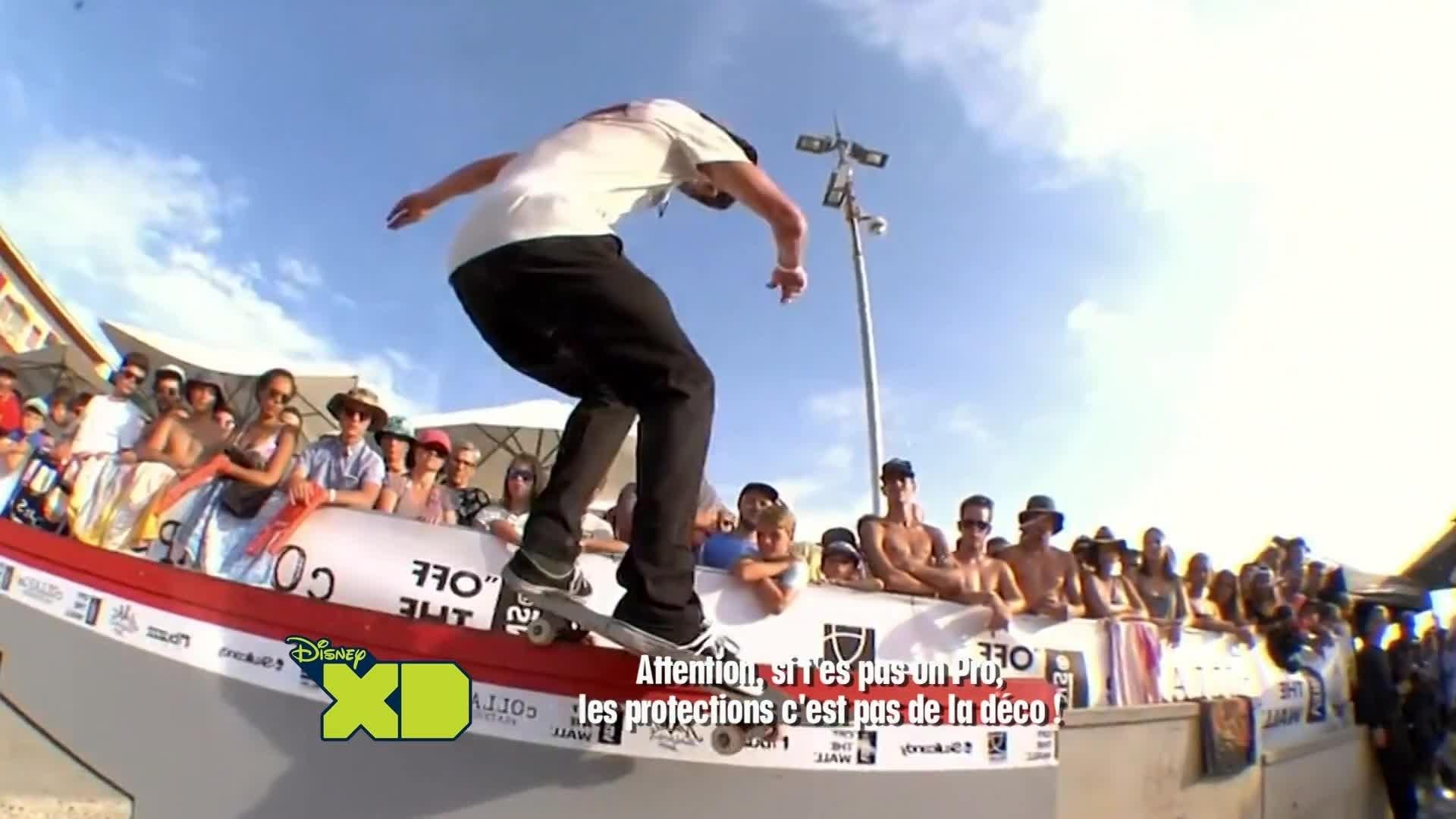 Disney XD Sport News - Hossegor : Skate