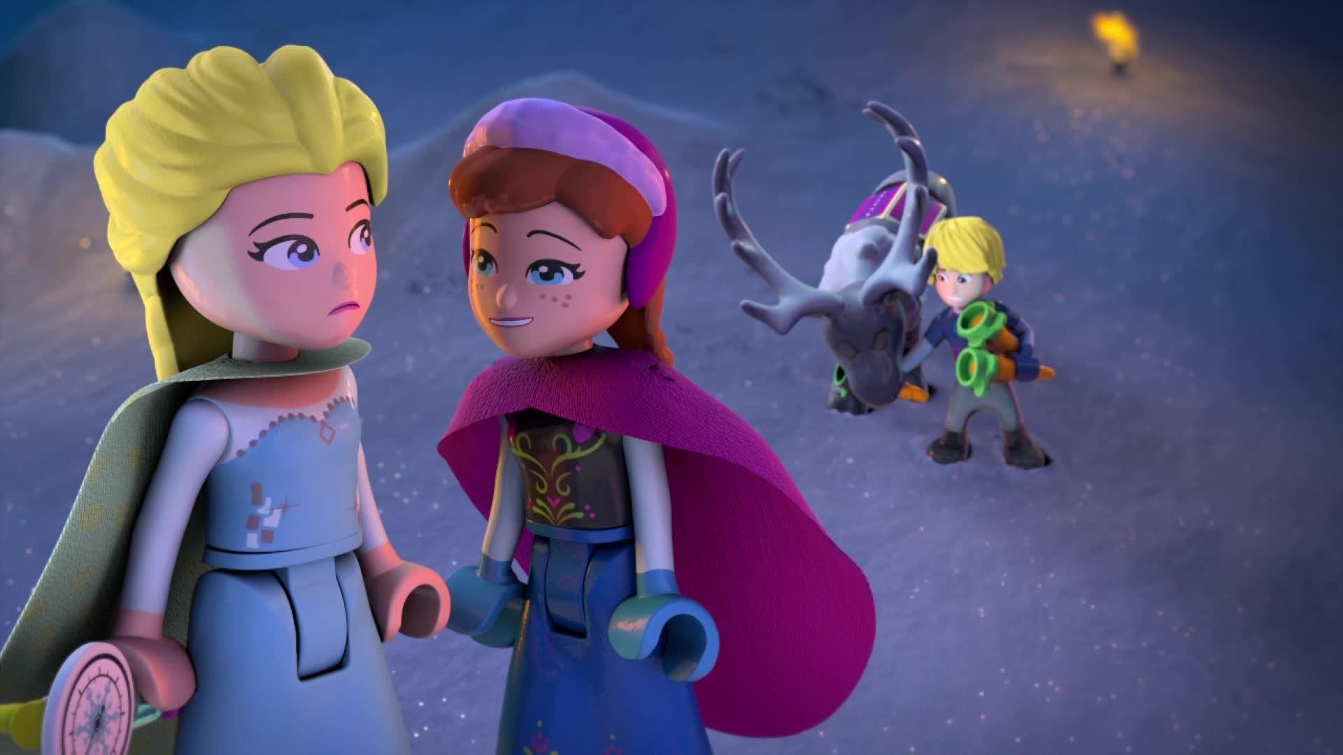 La Reine des Neiges - Magie des Aurores Boréales : épisode 1