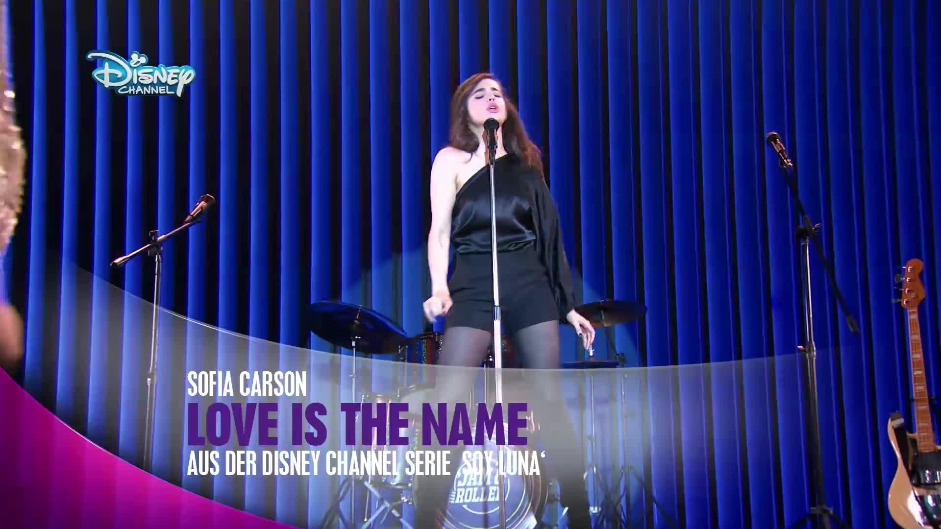 Soy Luna - Sofia Carson: 'Love is the name'