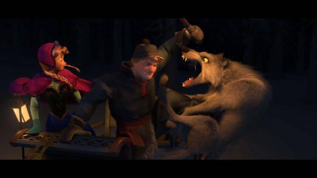 Die Eiskönigin - Filmclip: Wölfe