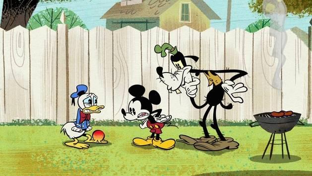 Mickey Mouse - Bobo à la papatte