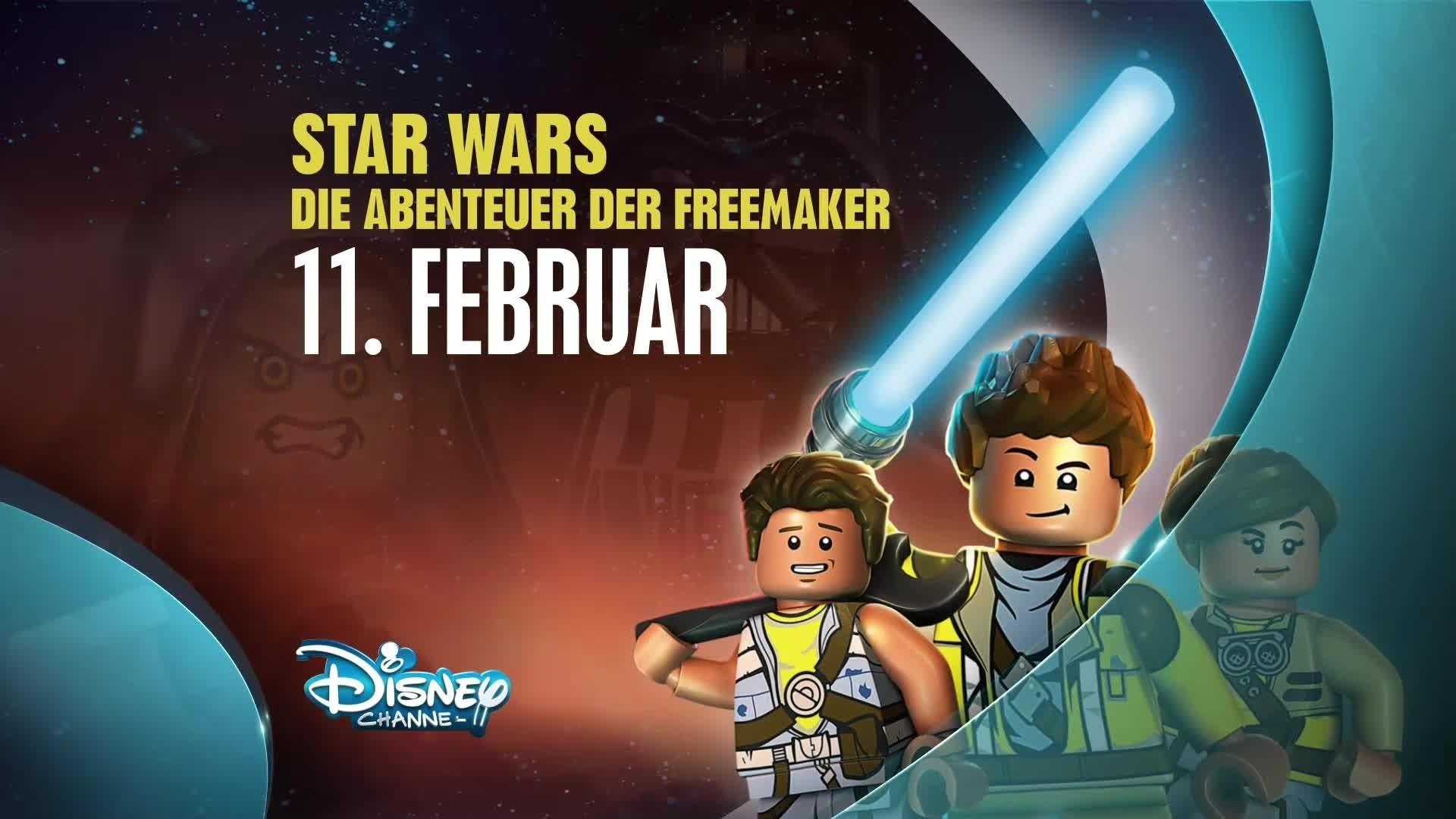 Lego Star Wars: Die Abenteuer der Freemaker - Trailer