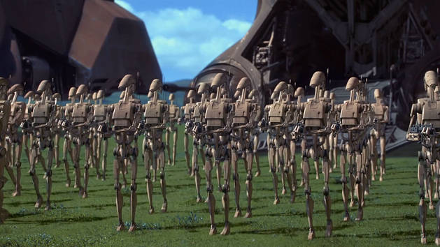 Star Wars - Extrait - Activez les droïdes