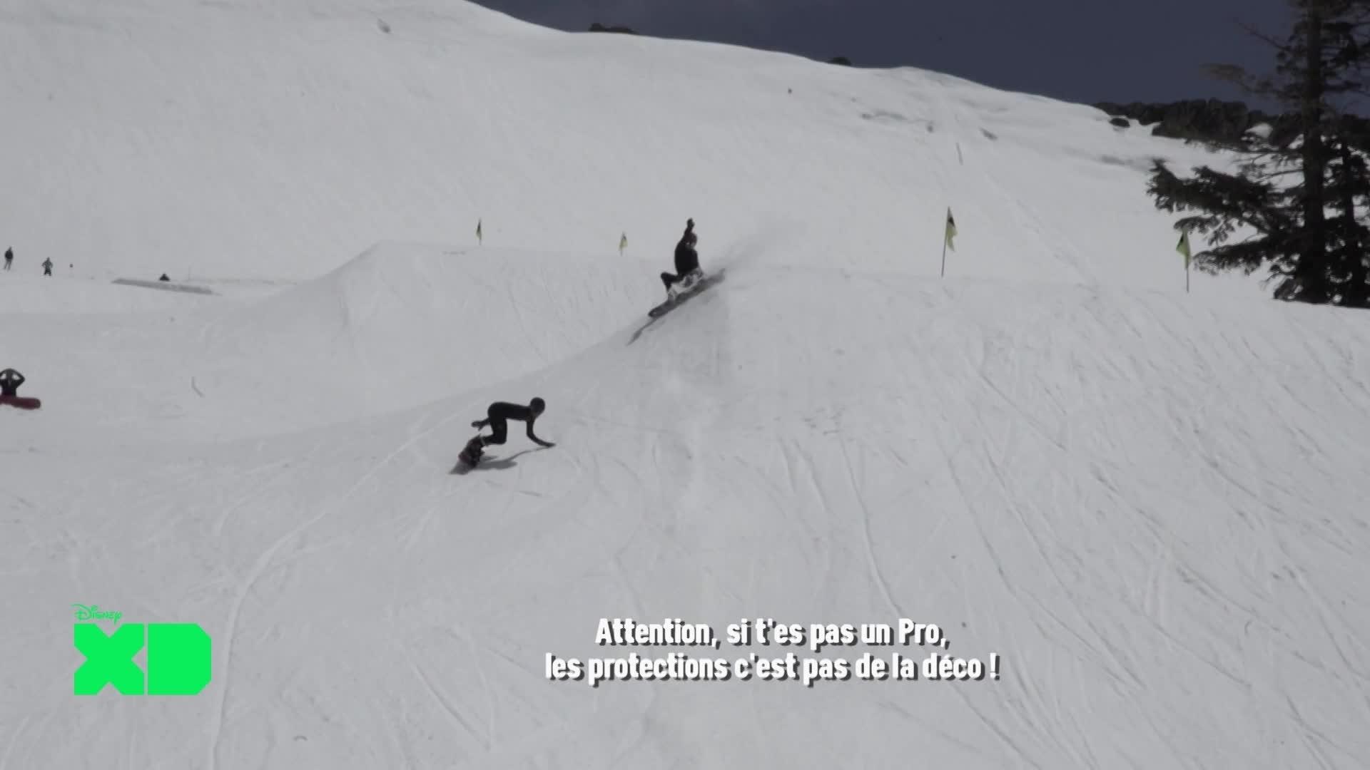 Disney XD Sport News - Snow VS Surf
