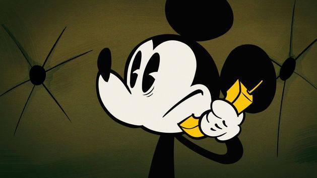 Mickey Mouse - Au pied, les oreilles