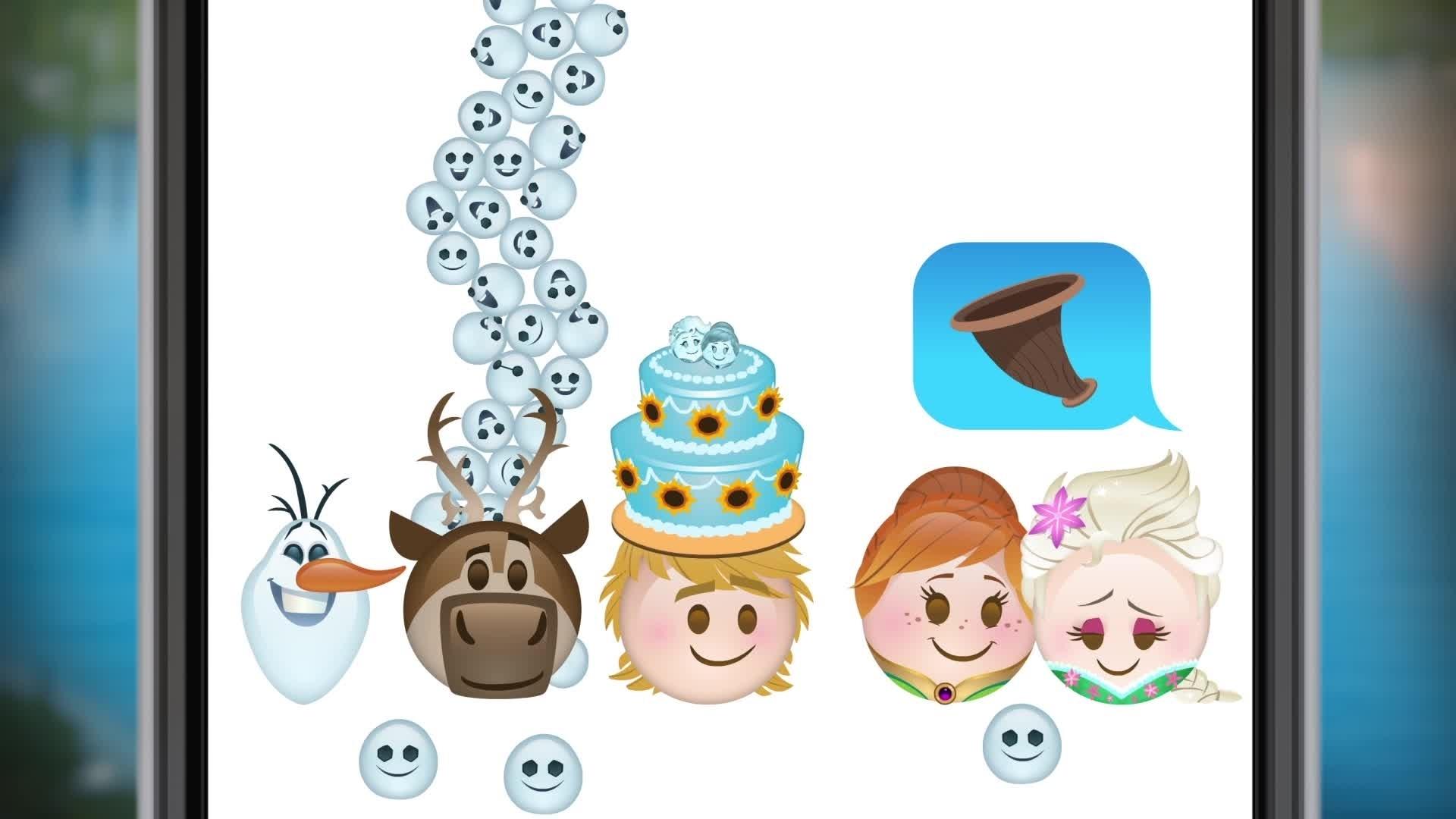 La Reine des Neiges – Une Fête Givrée en emojis