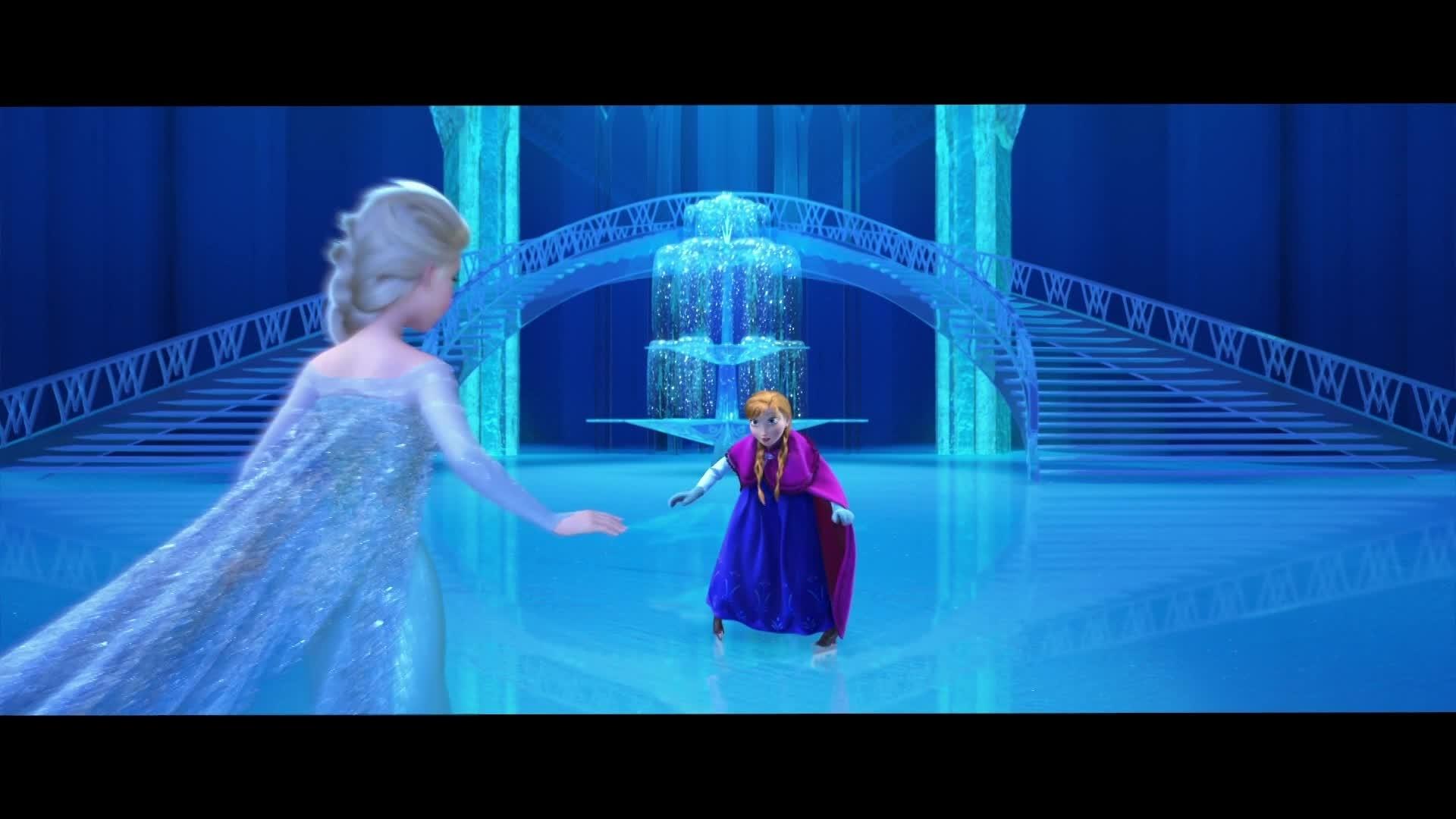 La reine des neiges for Bureau reine des neiges