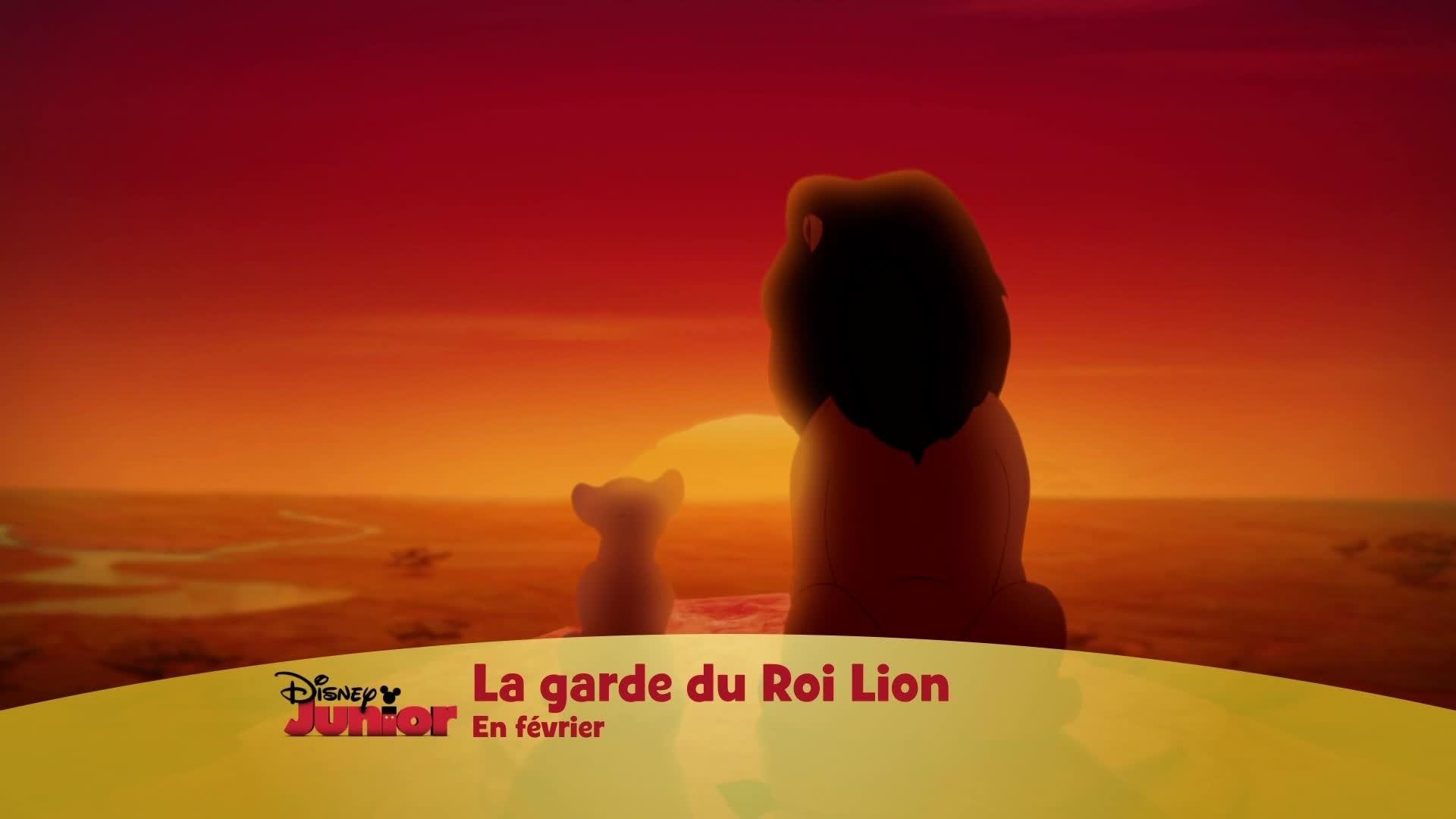 La Garde du Roi Lion - en février