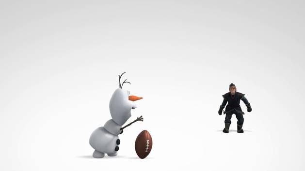 Die Eiskönigin - Clip: Football