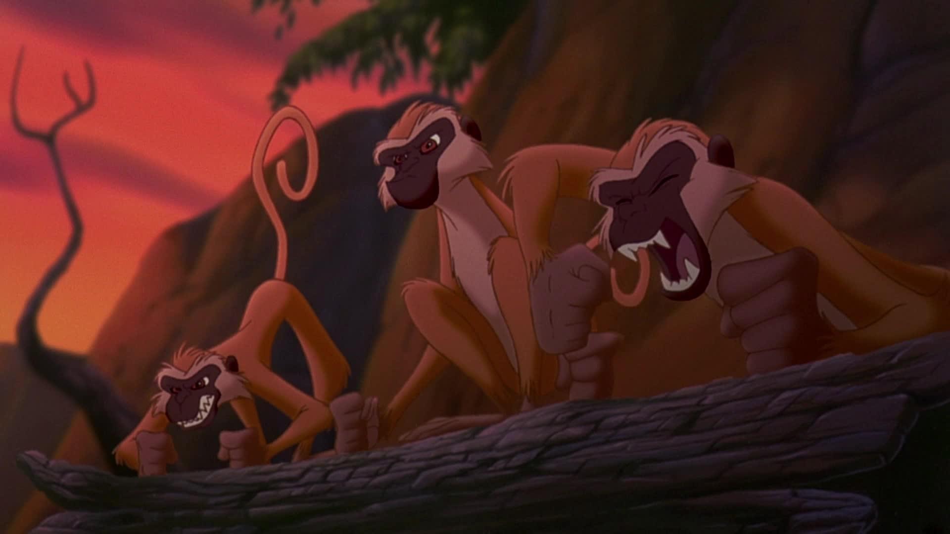 Le Roi Lion II, l'Honneur de la tribu - Chanson : L'un des notres (par les animaux de la savane)