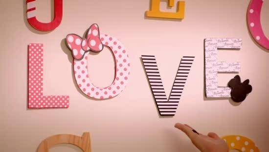 Minnie & You - Decorative Letters