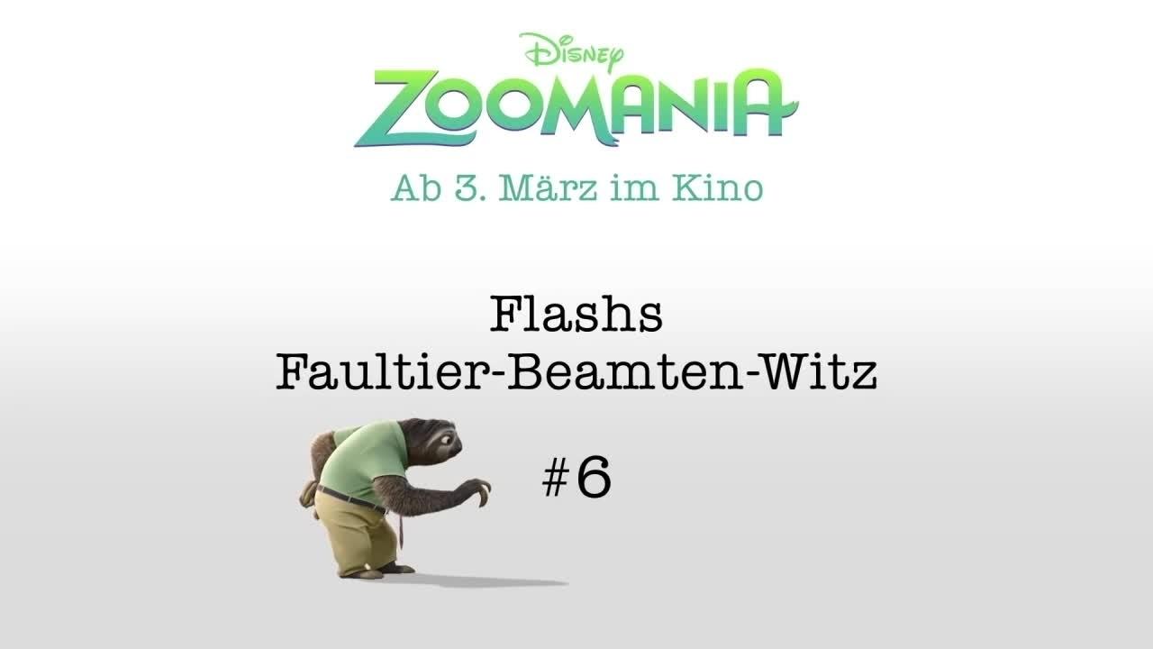 ZOOMANIA - Flashs Beamten-Witze