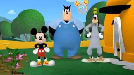 Fit mit Micky - Goofys Rückenübung