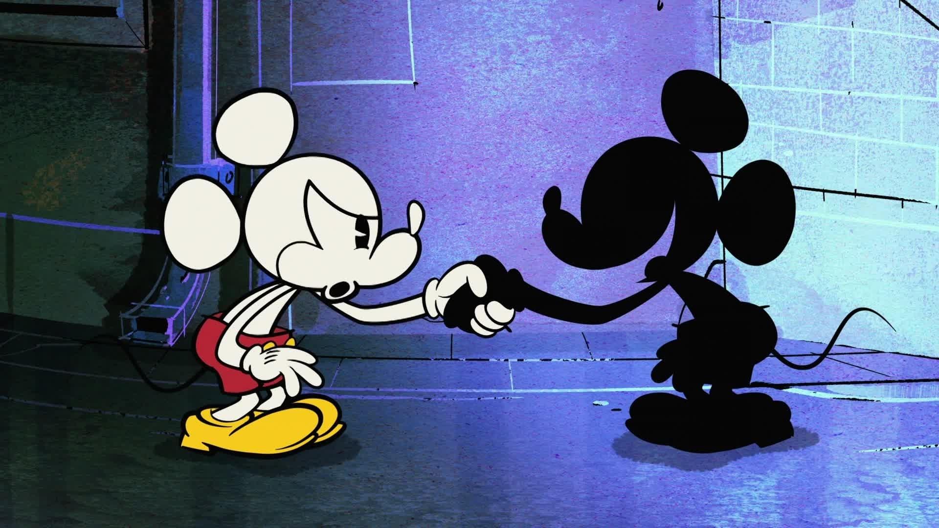 Mickey Mouse - En Noir et Blanc