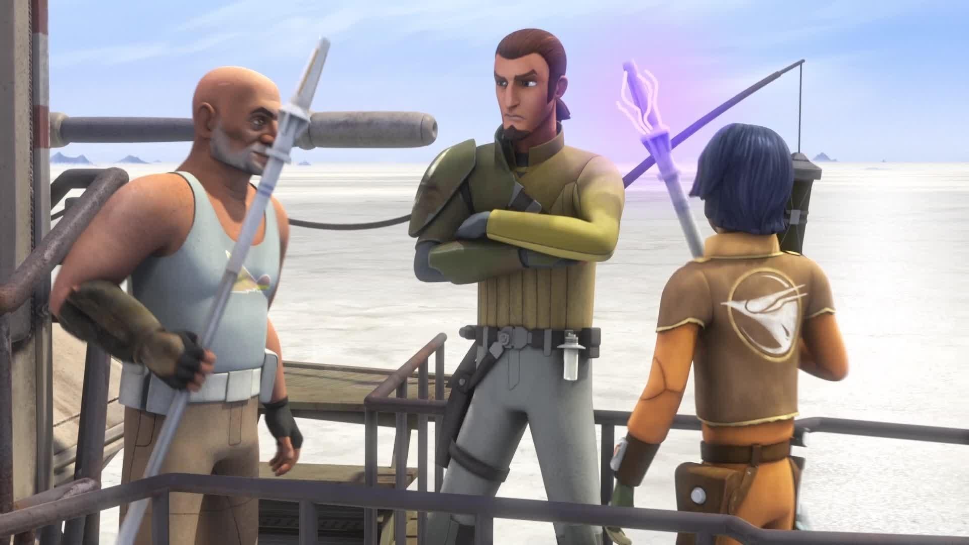 Star Wars Rebels - Saison 2 : Extrait - Zed l'appat