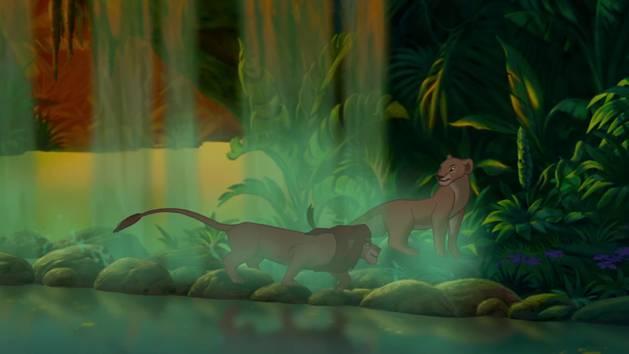 """Le Roi Lion : Chanson """"L'Amour Brille Sous Les étoiles"""""""