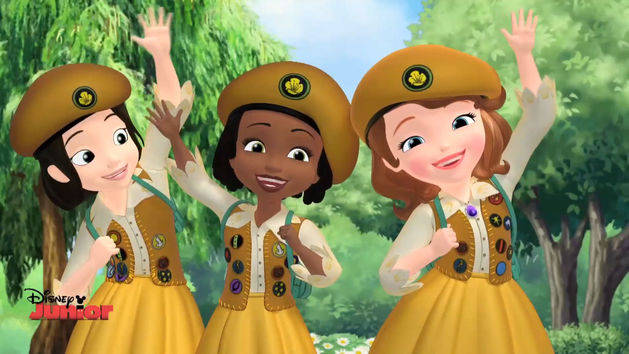 Sofia The First - The Buttercups Music Video