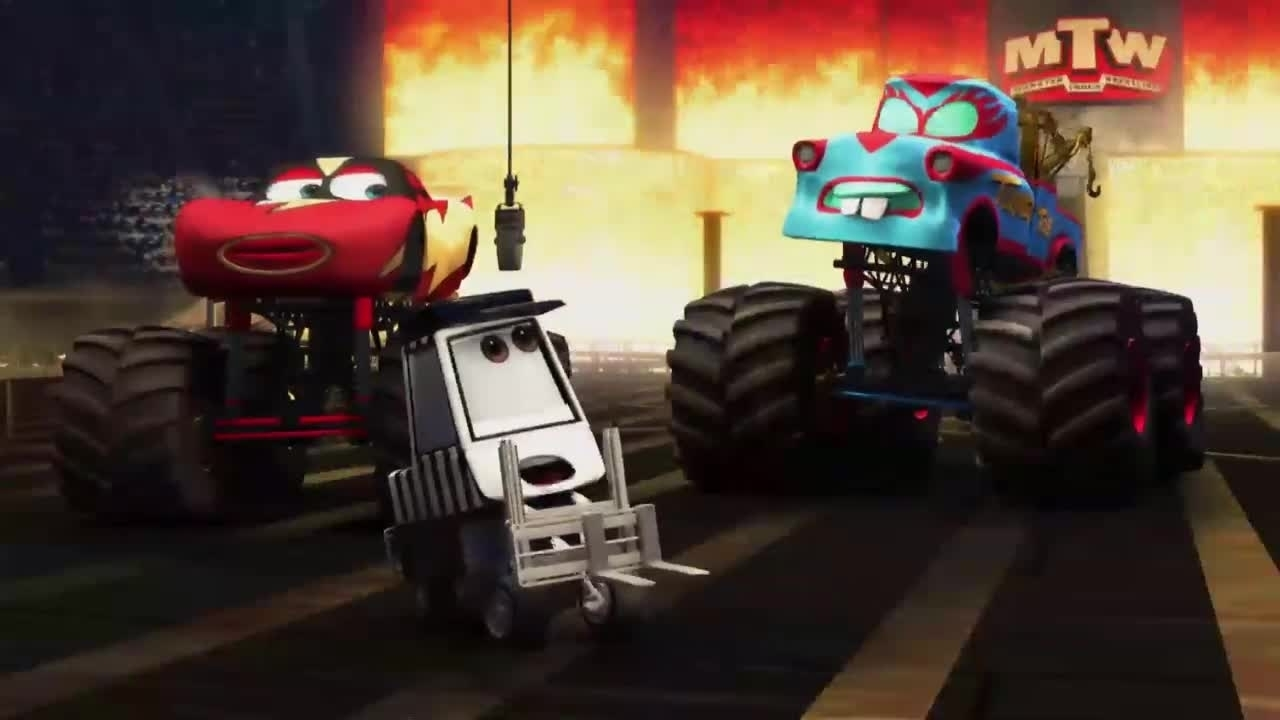 Cars Toons – Monster Truck Hook