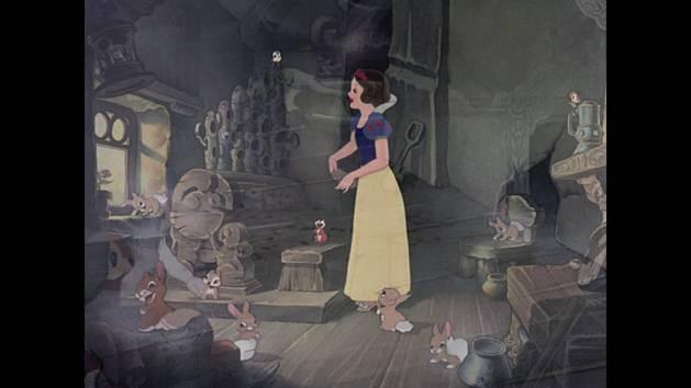 """Blanche Neige et les sept nains : Chanson """"Siffler en travaillant"""""""