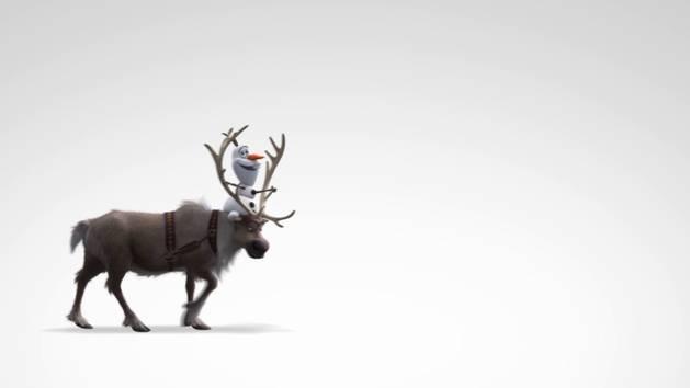Die Eiskönigin - Clip: Sven liebt Karotten