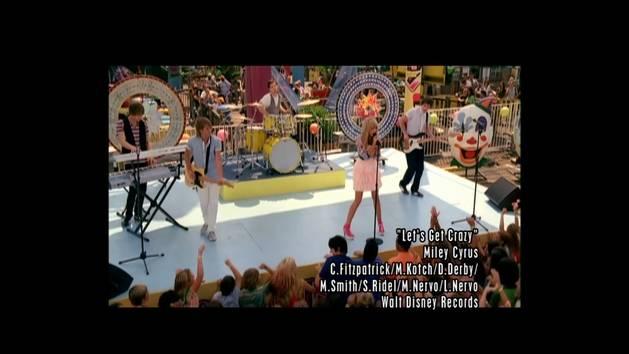 "Hannah Montana – Clip ""Let's Get Crazy"""