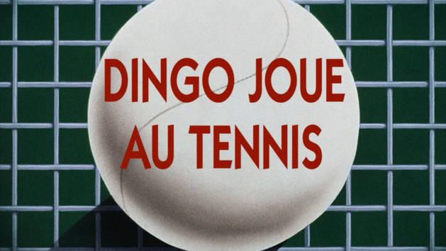 Mickey trop drôle - Dingo joue au tennis