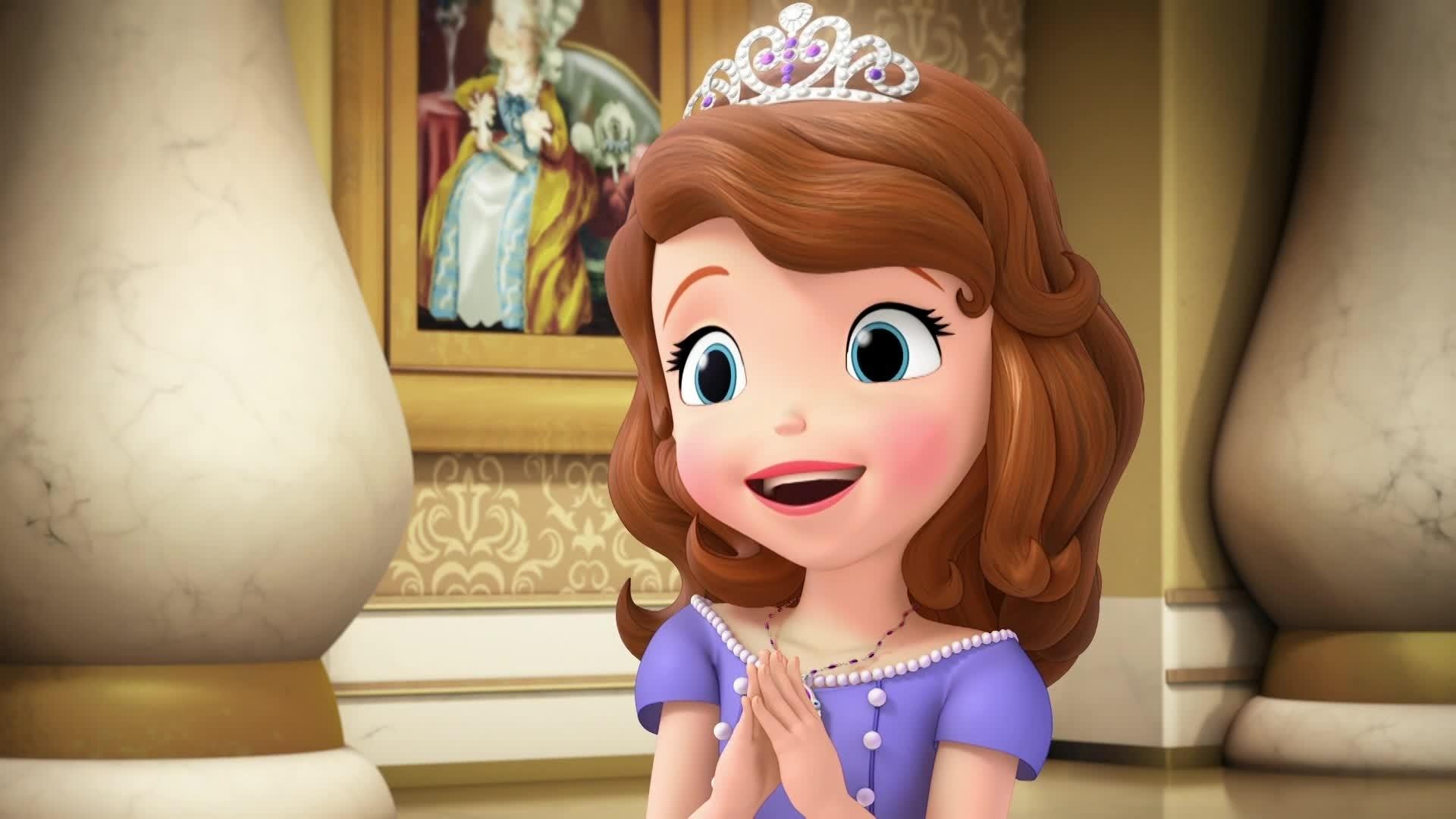 Princesse Sofia - Deux Princesses et un Bébé