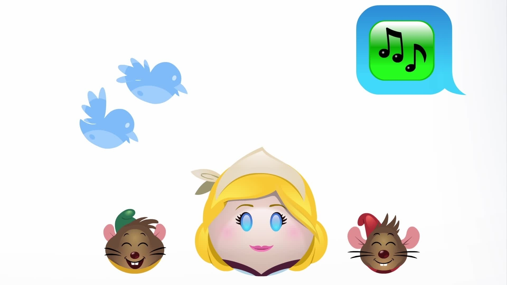 Cendrillon raconté en Emojis