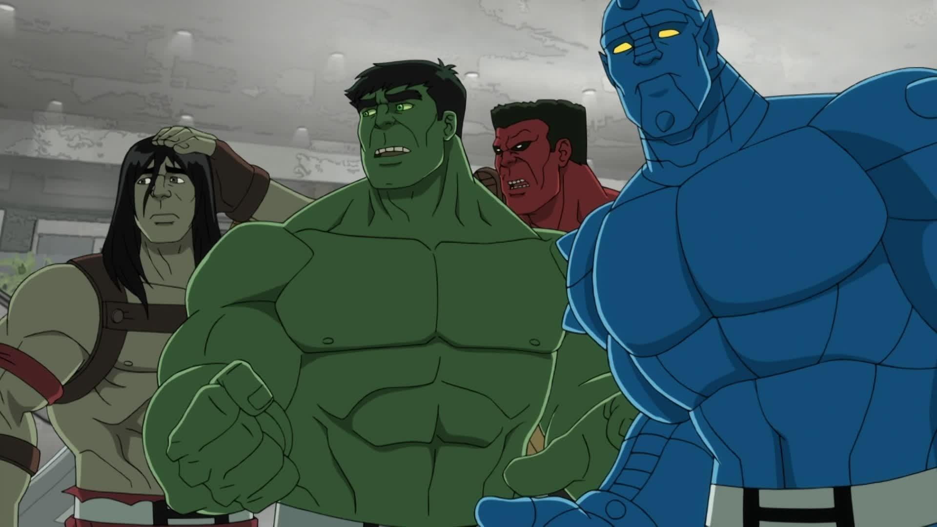 Marvel Hulk et les Agents du S.M.A.S.H - Cyborg contre Super Skrull