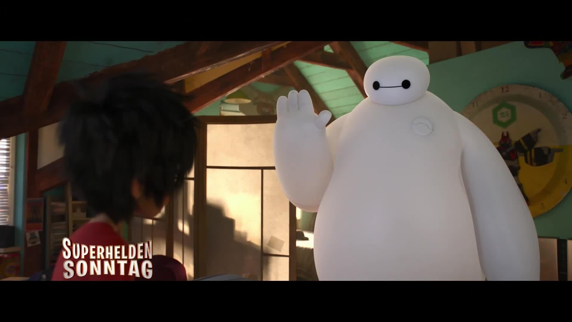 Baymax - Die TV-Premiere auf Disney Cinemagic